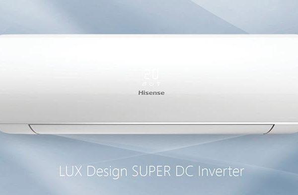 Инверторные сплит-системы Hisense серии LUX Design SUPER DC Inverter