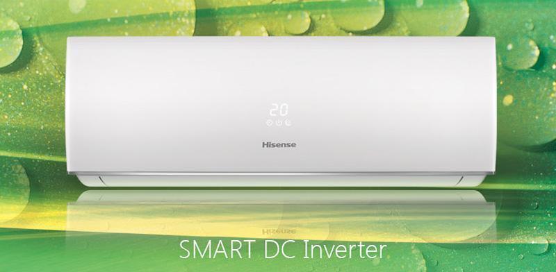 Инверторные сплит-системы Hisense серии SMART DC Inverter
