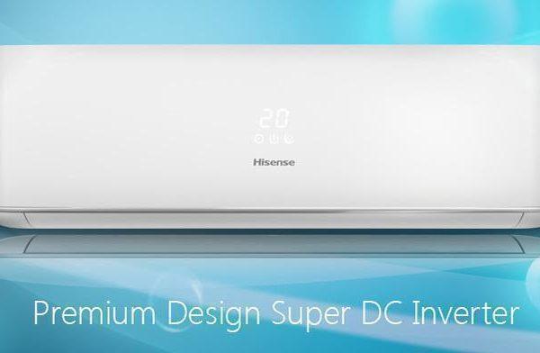 Инверторные сплит-системы Hisense серии Premium Design Super DC Inverter UE2018