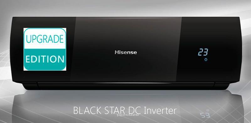 Инверторные сплит-системы Hisense серии BLACK STAR DC Inverter UE2018